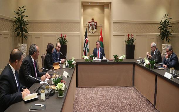 جلالة الملك عبدالله الثاني يترأس اجتماعا لمناقشة تطوير بيئة الأعمال في مدينة عمان