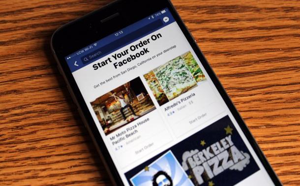 الآن.. يمكنك طلب الطعام من تطبيق فيسبوك