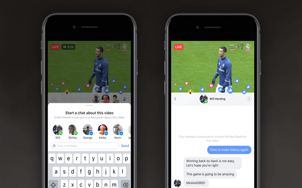 جديد فيسبوك.. ميّزات للتفاعل مع الأصدقاء في البث المُباشر