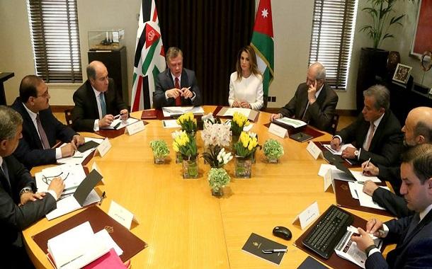 الملك يترأس إجتماعا لمتابعة تنفيذ إستراتيجية تنمية الموارد البشرية