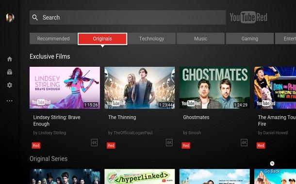 تحديث جديد لتطبيق يوتيوب على أجهزة التلفاز
