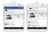 فيسبوك تعدل تصميم تطبيقها ليصبح أبسط