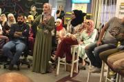 المخرجة ألاء حمدان ..... نصائح للظهور والحديث بشكل جيد أمام جمهور