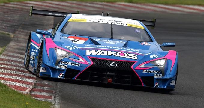 Lexus LC 500 @ SUGO circuit