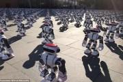 فيديو مذهل.... عرض راقص لأكثر من 1000 روبوت