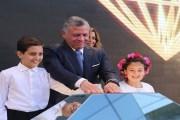 الملك يفتتح التوسعة الجديدة لمركز الحسين للسرطان- صور