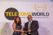 جوائز تيليكوم وورلدز الشرق الأوسط تمنح الهناندة جائزة أفضل رئيس تنفيذي للعام ٢٠١٧
