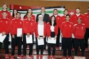 اللجنة الأولمبية تُكرم أصحاب الانجاز في