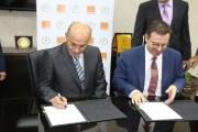 إتفاقية بين أورانج الأردن وبلدية إربد