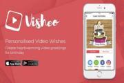 تطبيق لإنشاء بطاقات تهنئة بالفيديو على أجهزة آيفون