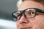 واقع معزز خفي في نظارة بتصميم تقليدي