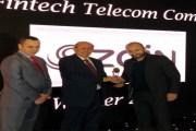 زين الأردن تحصد جائزة أفضل خدمات مالية يقدمها مشغّل اتصالات