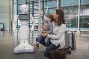 مطار ميونخ ولوفتهانزا يبدآن باختبار روبوت بشري المظهر في المبنى الثاني