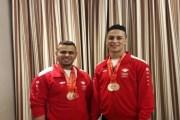 العابودي والخوالدة يحصدان ست ميداليات برونزية في بطولة غرب آسيا لرفع الأثقال