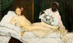 """Olympia"" by Édouard Manet (1867)"