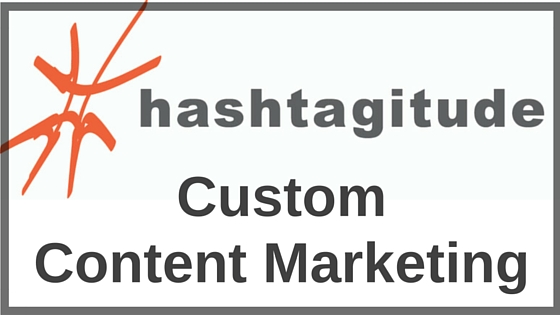 In addition to our social media services, we provide custom content marketing for small businesses. Contact Hashtagitude today!