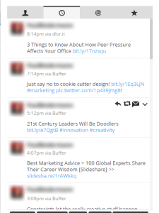 Content curation is fine, but don't overdo it (and not engage with your audience!)