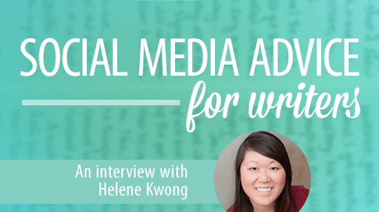 Social media advice for writers: Hashtagitude's Helene Kwong was featured on Finicky Designs' blog in 2015.