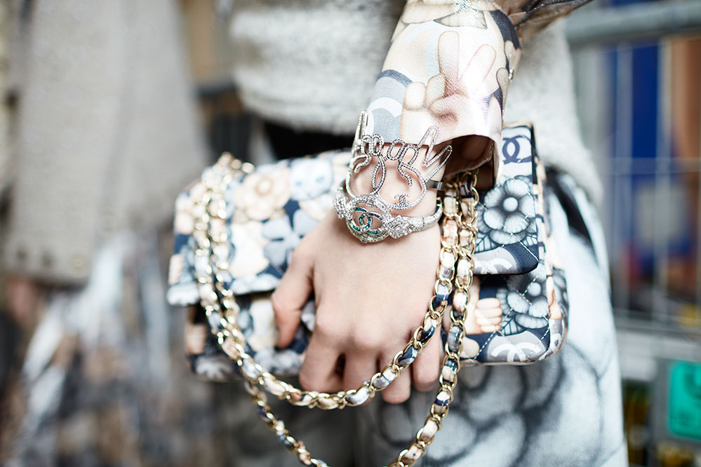 The Latest Accessory Looks From Paris Fashion Week   Hashtag Legend Chanel autumn winter 2016 accessories  Credit  St    phane Gallois