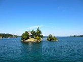 One island in the US, the other in Canada.