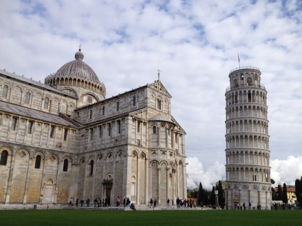 A quick pit-stop in Pisa