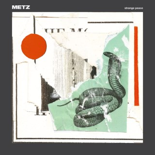 """News Added Jul 11, 2017 Toronto noise-punk power-trio METZ follow-up their 2015 album """"II"""" with """"Strange Peace"""" for Sub Pop, recorded live-to tape at Steve Albini's Electrical Audio studios in Chicago, with Albini producing. Alex Edkins (guitar, vocals), Hayden Menzies (drums), and Chris Slorach (bass) push into new and alarming territory, frantically pushing past where […]"""