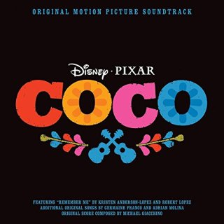 "News Added Oct 09, 2017 On November 10th, 2017, Walt Disney Records will release the official soundtrack album for Pixar Studio's first musical ""Coco"". The track listing features original songs from the movie, as well as Michael Giacchino's scoring of the film. Submitted By Suspended Source amazon.com Track list: Added Oct 09, 2017   1. […]"