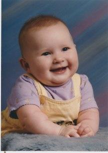Sarah Grace, 6 months