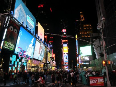 Times Square, NYC. Image by The Tromp Queen, CC license