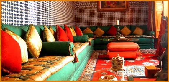 Dcoration De Salons Marocains 2015 Dco