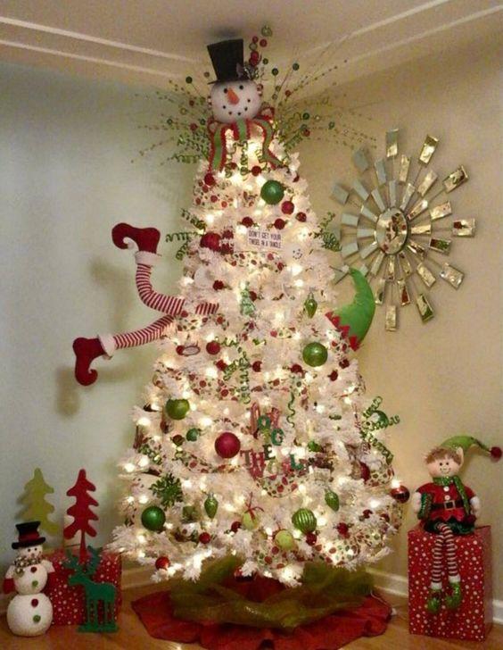 Decoration Sapin Noel 2017 1 Deco