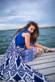 Idaho Lake Nature Senior Fashion Photographer (1)