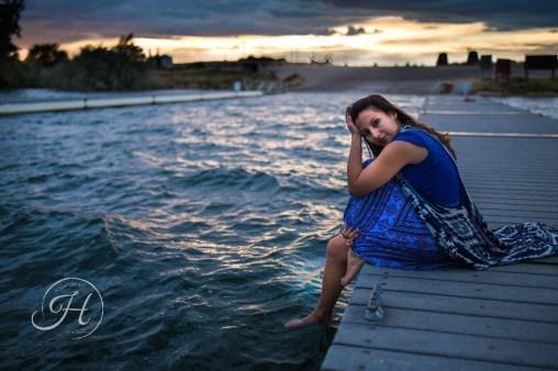 Idaho Lake Nature Senior Fashion Photographer (11)
