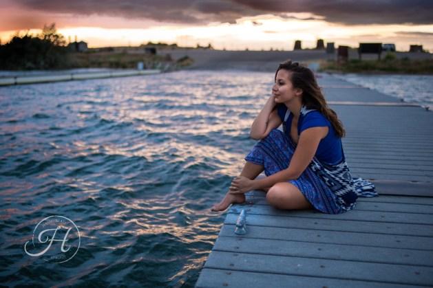 Idaho Lake Nature Senior Fashion Photographer (20)
