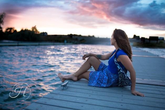 Idaho Lake Nature Senior Fashion Photographer (25)