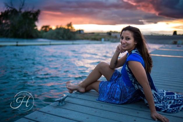 Idaho Lake Nature Senior Fashion Photographer (26)