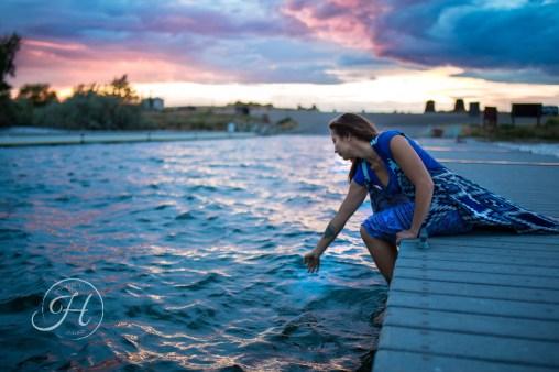 Idaho Lake Nature Senior Fashion Photographer (27)