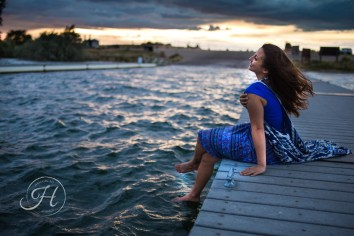 Idaho Lake Nature Senior Fashion Photographer (9)