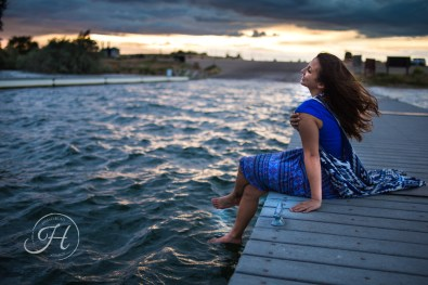 Idaho Lake Nature Senior Fashion Photographer (9)