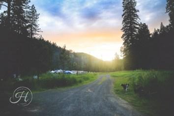 landscape sunset photography north idaho