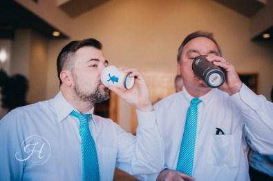 wedding photography Meridian Idaho Valley Shepherd Groomsmen Dutch Bros