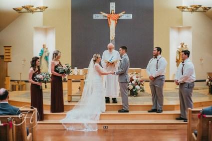 Downtown Boise wedding photography wedding photographer Idaho Our Lady of the Rosary wedding