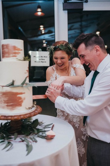 cute cake cutting wedding pictures Los Angeles wedding photographer
