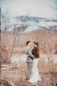 winter wedding pictures Barber Park Event Center Boise Idaho Wedding photographer