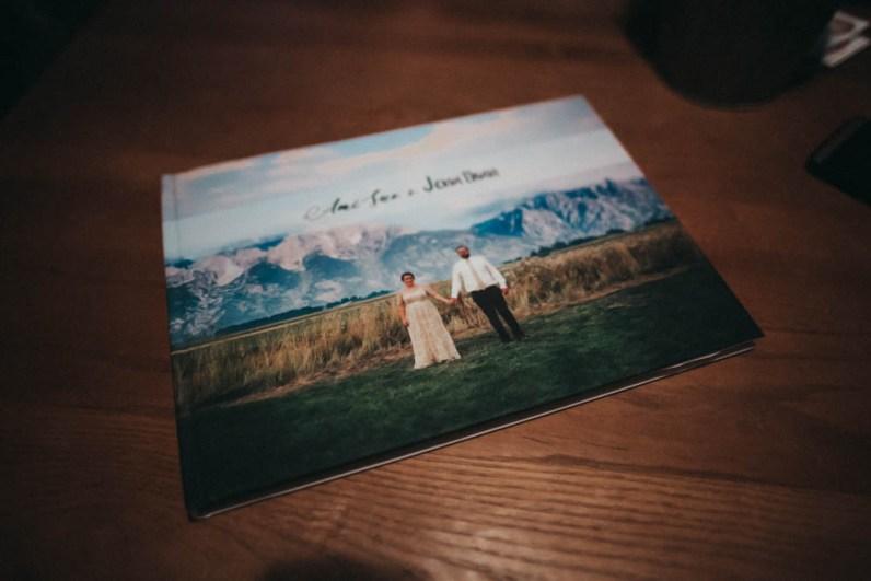 Satin Affordable Wedding Album Custom Design-9738