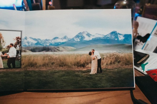 Satin Affordable Wedding Album Custom Design-9760