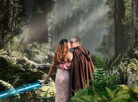 Star Wars Engagement Shoot Wedding Photographer Los Angeles CA (2)