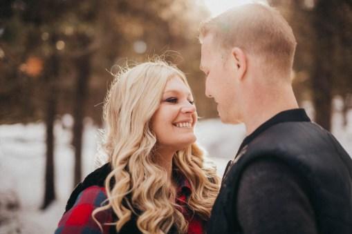 Sam and Luke Mountain Engagement Pictures Boise Idaho City-20
