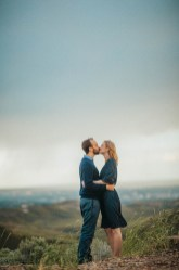 Bogus Basin Road Engagement Photography Los Angeles Boise Wedding Photographer (13)