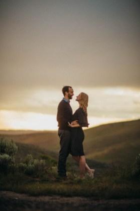 Bogus Basin Road Engagement Photography Los Angeles Boise Wedding Photographer (9)